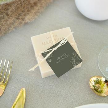 Etiquettes cadeaux mariage