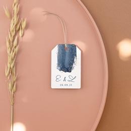 Etiquettes cadeaux mariage Sous la voûte étoilée, 6 x 4 cm