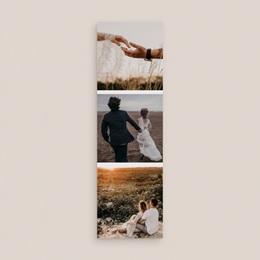 Carte de remerciement mariage Arche de Minuit, 2 en 1 gratuit