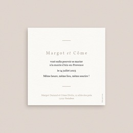 Change the date mariage Harmonie Florale, Nouvelle Date pas cher