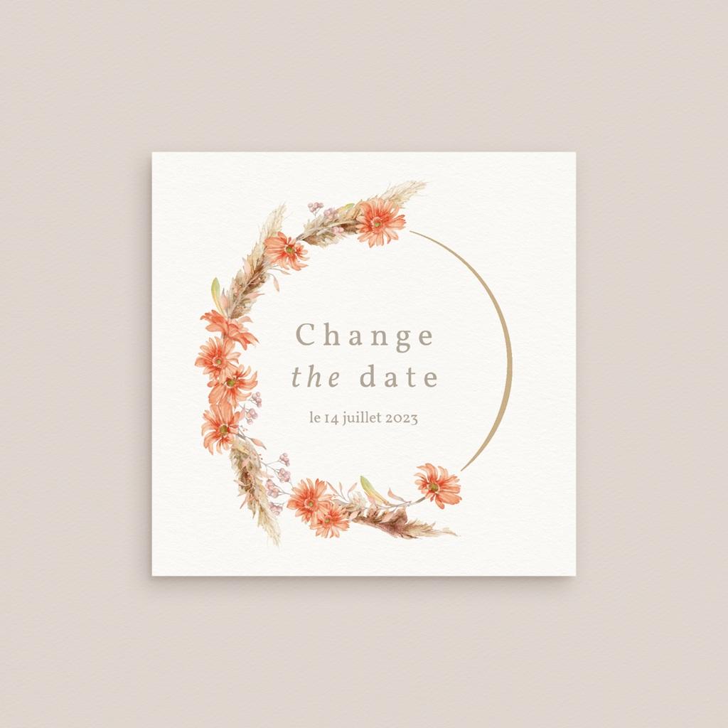 Change the date mariage Harmonie Florale, Nouvelle Date gratuit