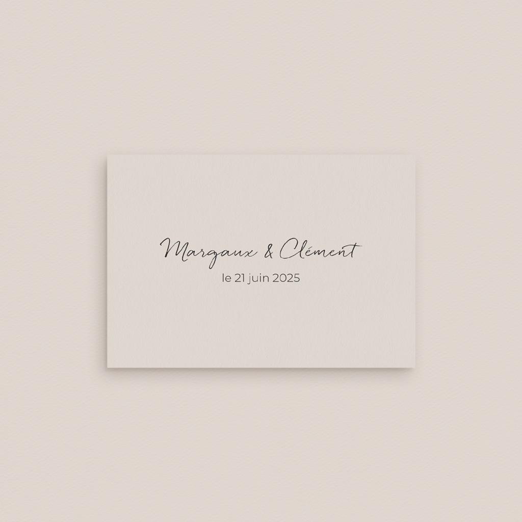 Marque-place mariage Herbier Mots doux gratuit