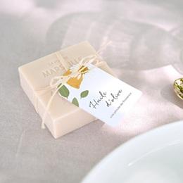 Etiquettes cadeaux mariage Herbier Mots doux, Cadeau Invité
