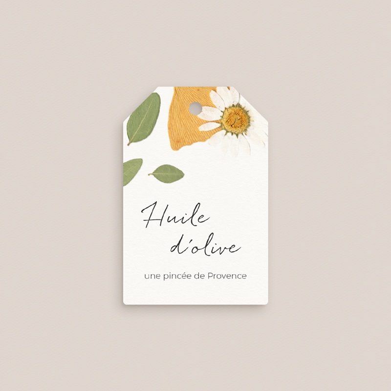 Etiquettes cadeaux mariage Herbier Mots doux, Cadeau Invité gratuit