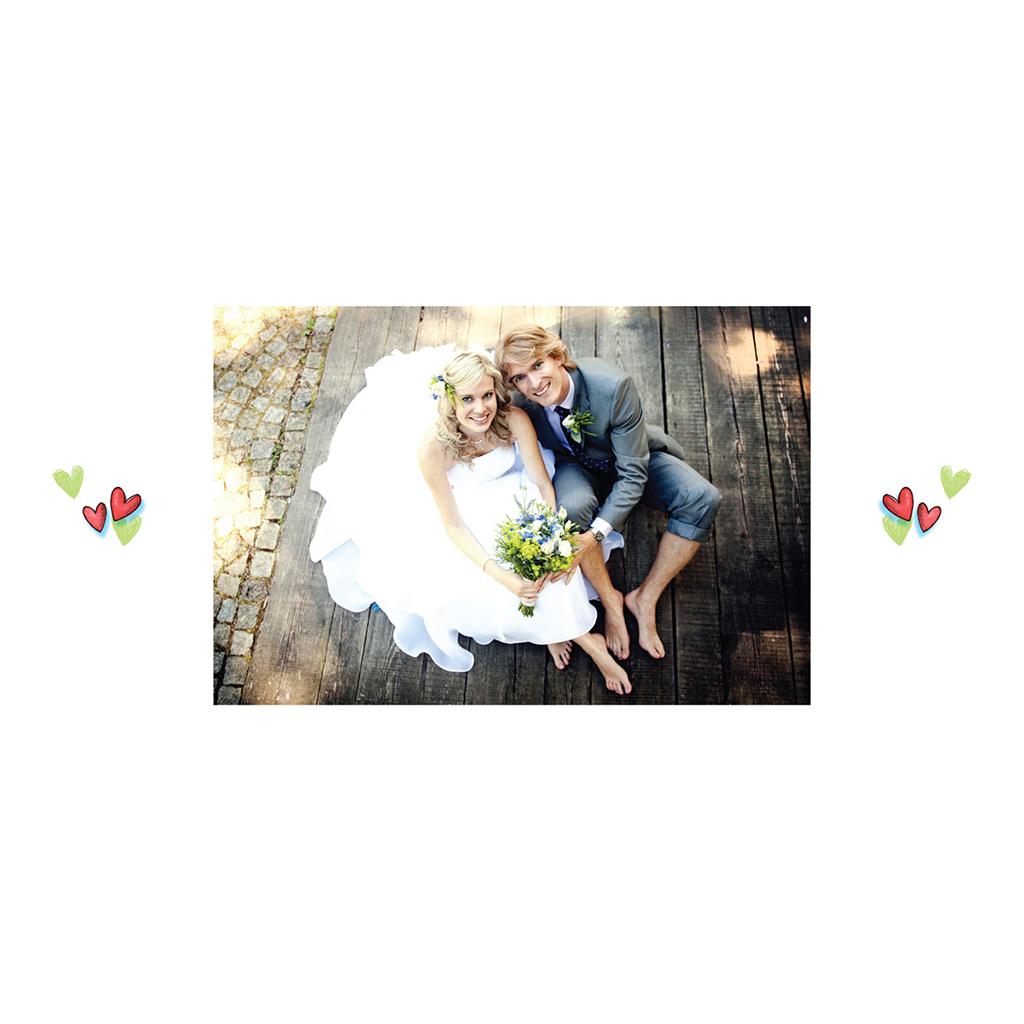 Carte de remerciement mariage Abeilles  gratuit