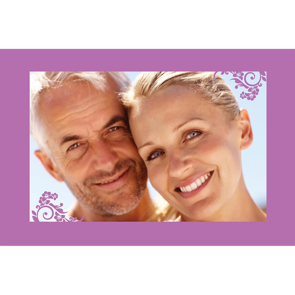 Carte anniversaire de mariage Orchidées  gratuit