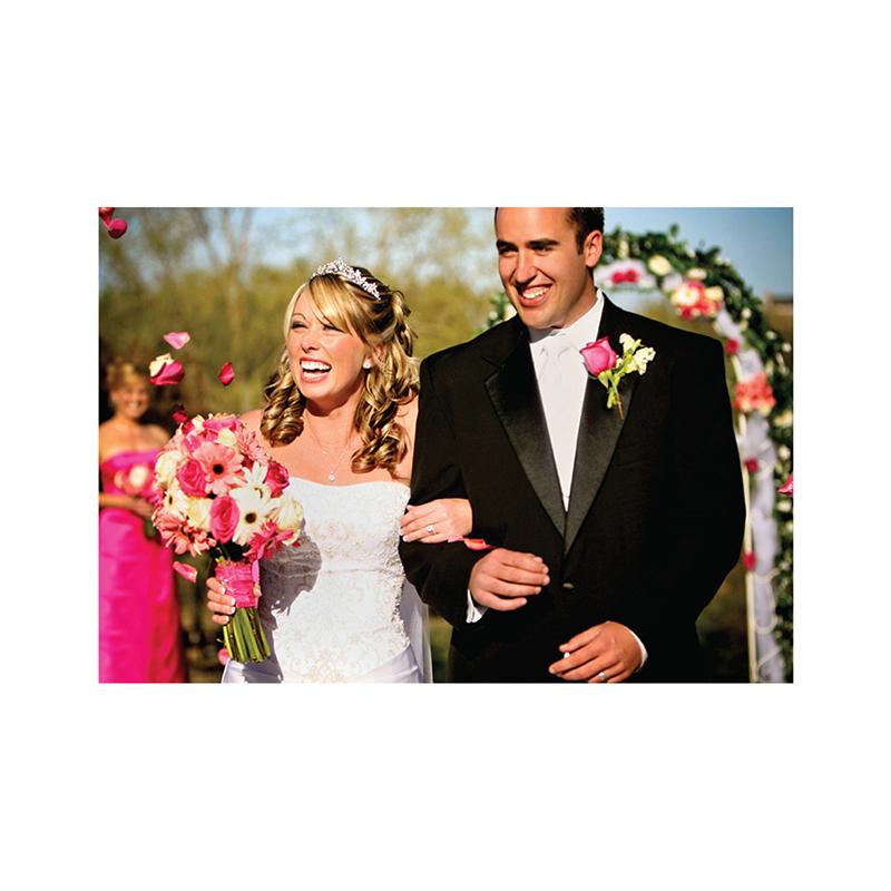 Carte de remerciement mariage La Coccinelle  gratuit