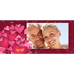 Carte anniversaire de mariage L'Envolée  pas cher