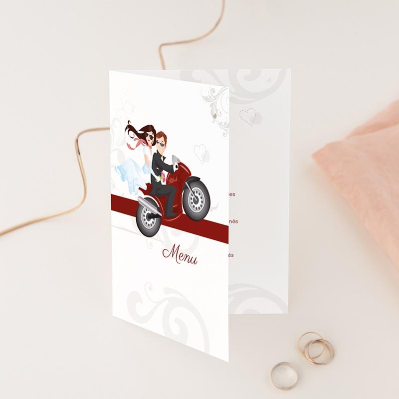 Menu mariage Une moto pour 2, Double
