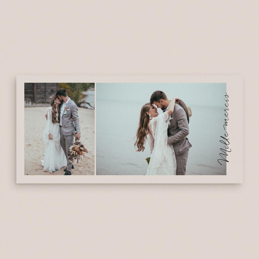 Carte de remerciement mariage Globe de fleurs bohèmes, panoramique gratuit