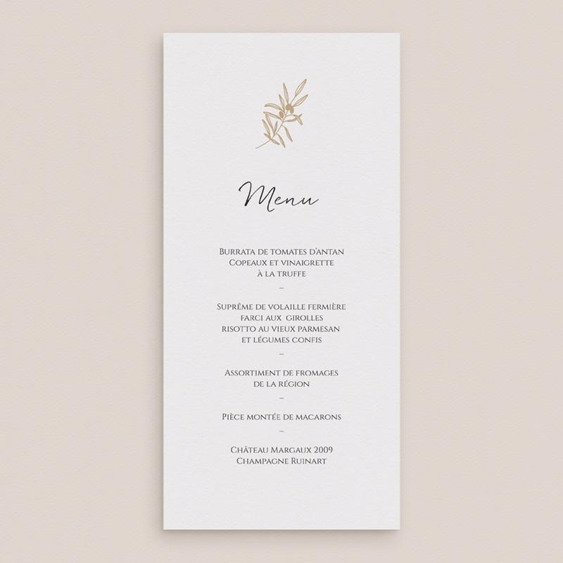Menu mariage Le Brin doré, Réception gratuit