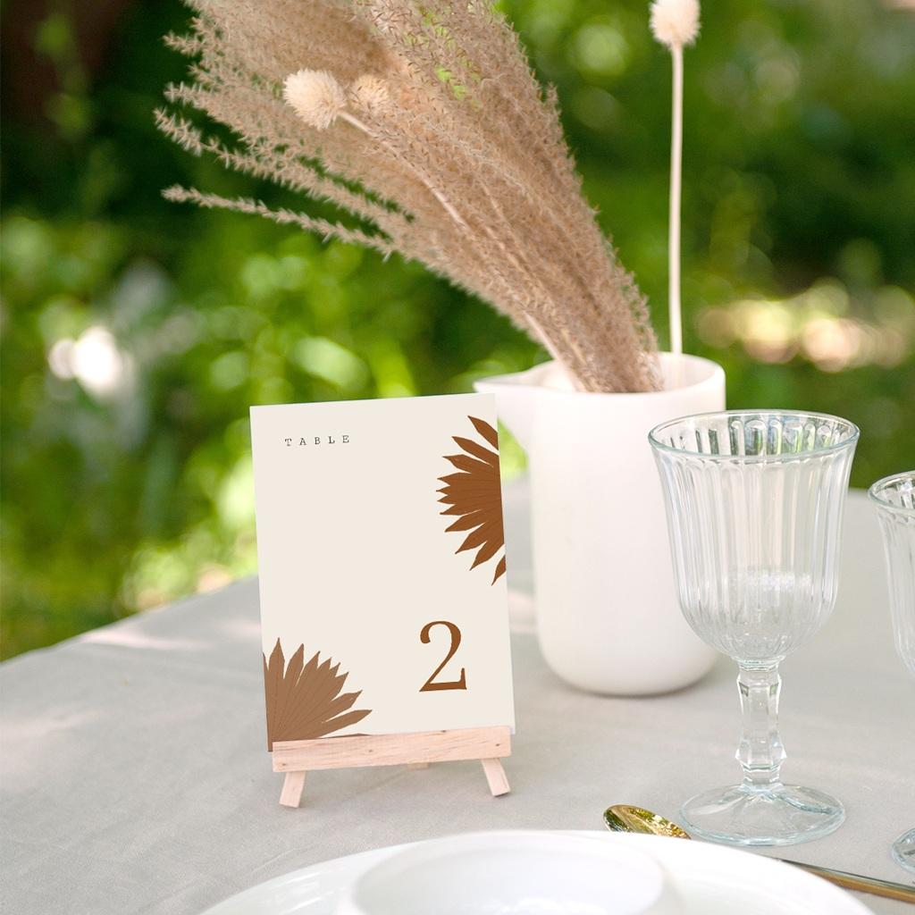 Marque table mariage Globe de fleurs bohèmes, lot de 3 gratuit