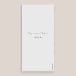 Menu mariage Feuillage, rectangle pas cher
