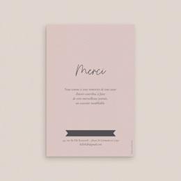 Carte de remerciement mariage Pretty Confettis pas cher
