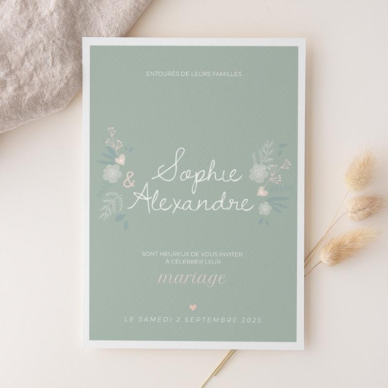 Faire-part de mariage Sweet Wedding