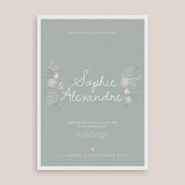 Faire-part de mariage Sweet Wedding gratuit