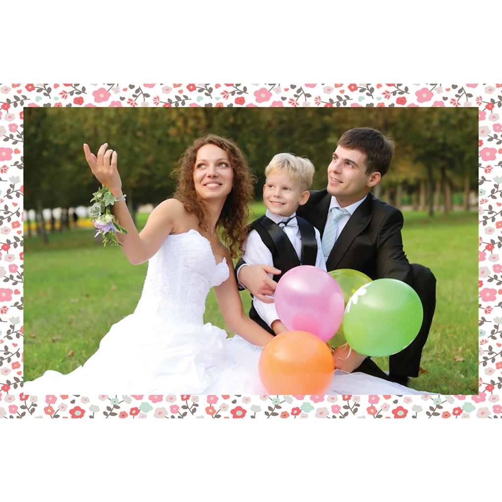 Carte de remerciement mariage Liberty  pas cher