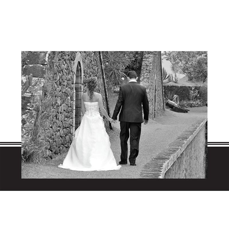 Carte de remerciement mariage Cérémonie noir gratuit