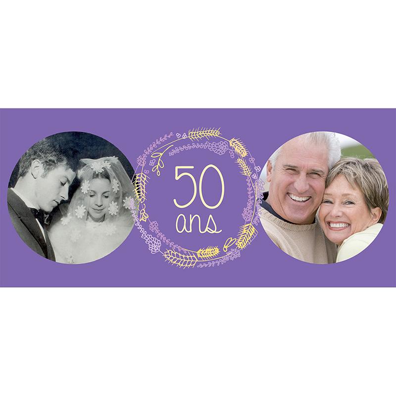 Carte anniversaire de mariage Brise d'été  pas cher