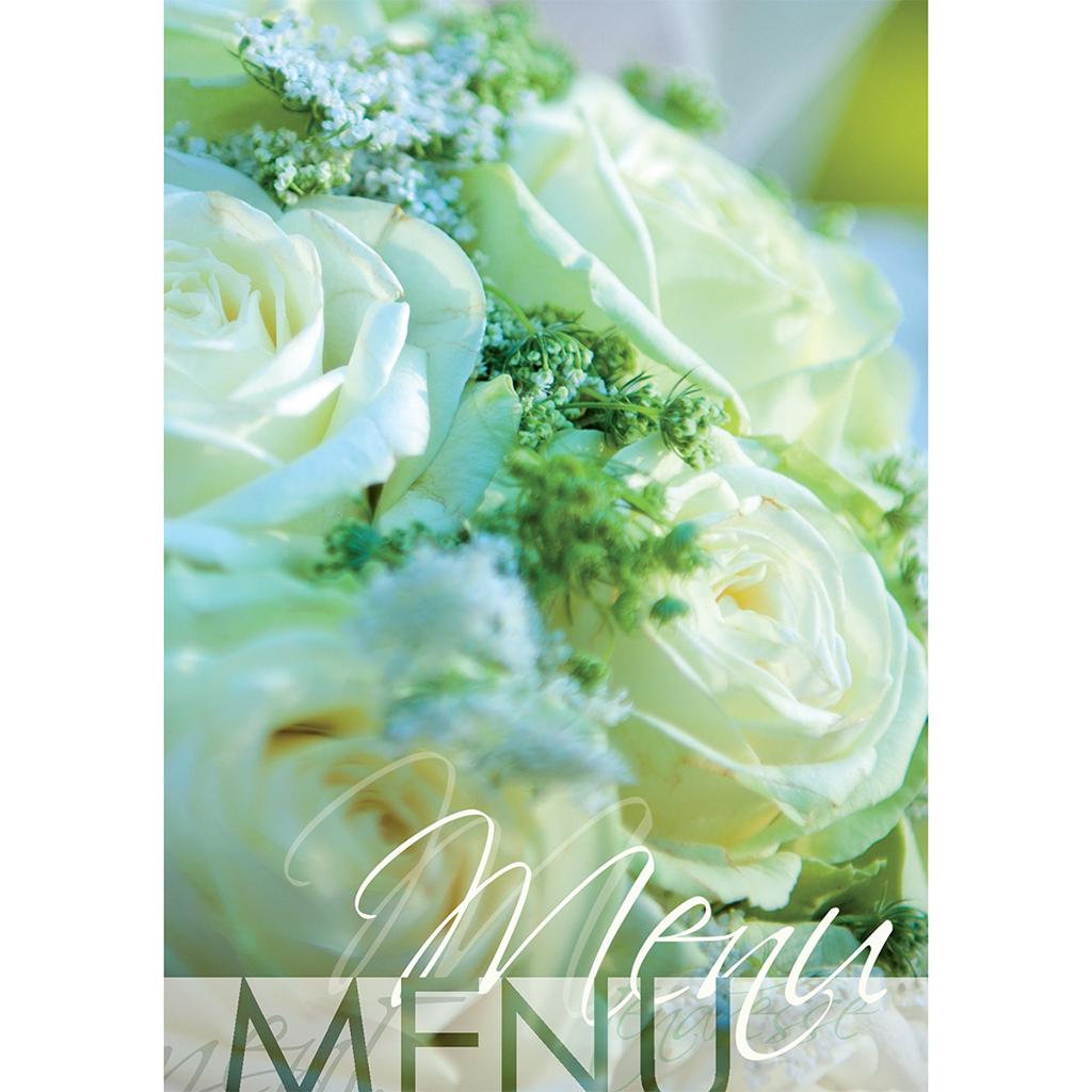 Menu mariage Florilège vert pas cher