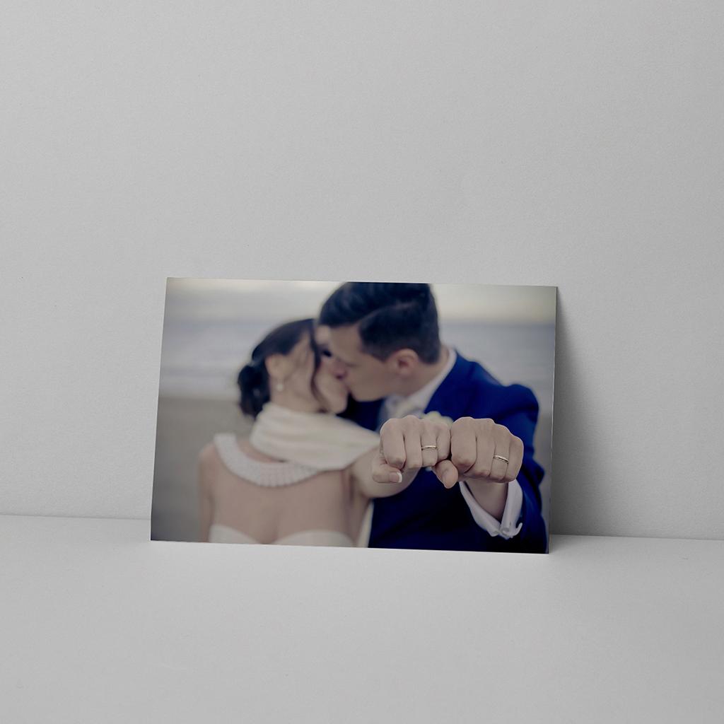 Carte de remerciement mariage Ancre Marine Bleu Moutarde pas cher
