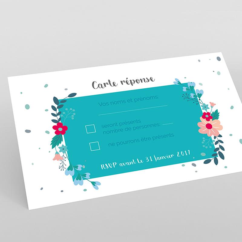 Carton réponse mariage Gipsy