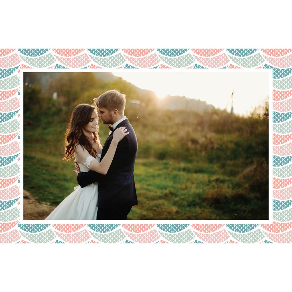 Carte de remerciement mariage Trendy gratuit