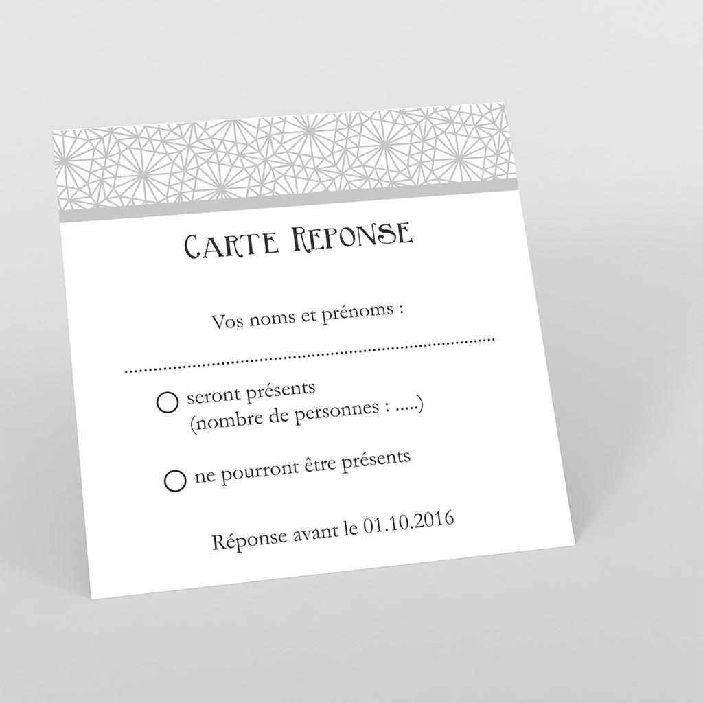 Carton réponse mariage Wedding 2 melles