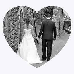 Carte de remerciement mariage Letter Press gris pas cher