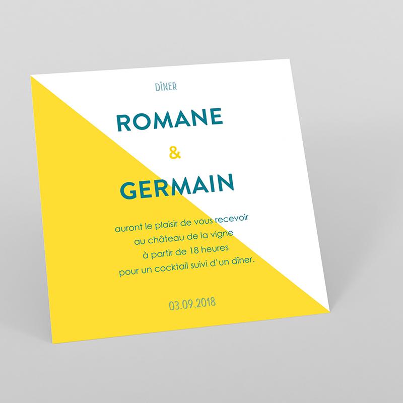 Carte d'invitation mariage Love Summer