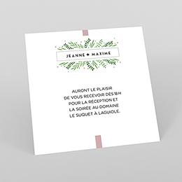 Carte d'invitation mariage Un Grand Oui