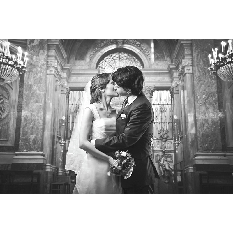 Carte de remerciement mariage Un jour d'amour bleu argent pas cher