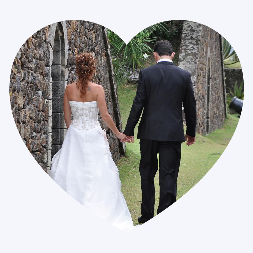 Carte de remerciement mariage Les Coeurs coeur pas cher