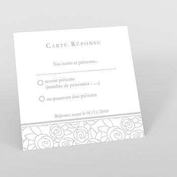 Carton réponse mariage Vendôme