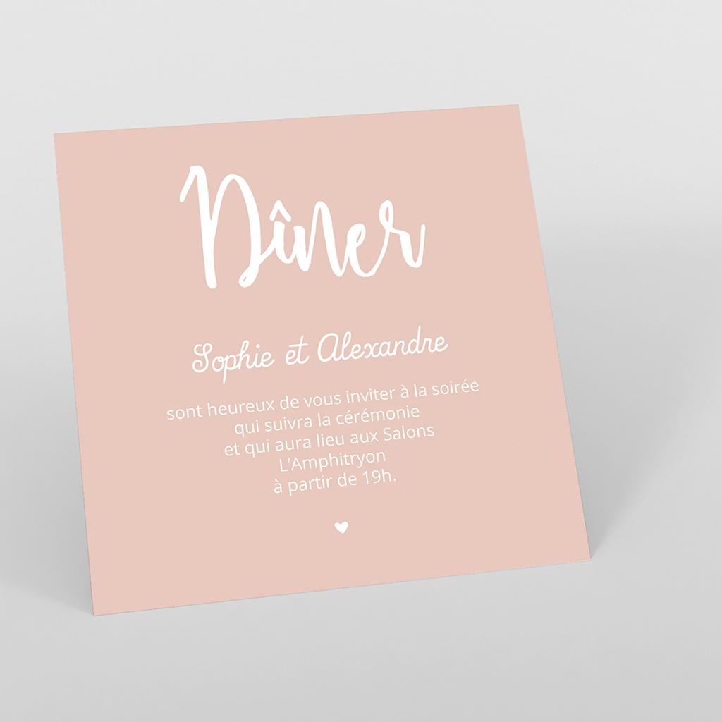 Carte d'invitation mariage Sweet Wedding