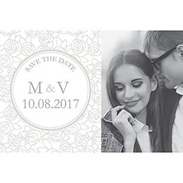 Save-the-date mariage Vendôme  pas cher