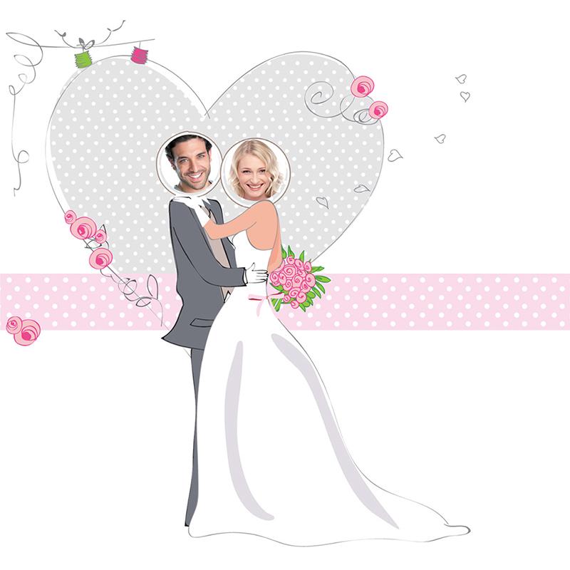Faire-part de mariage Jour de fête  gratuit
