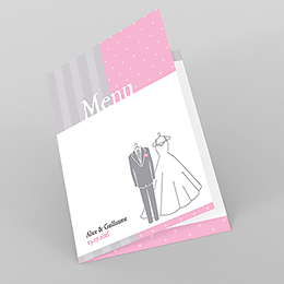 Menu mariage Costumes
