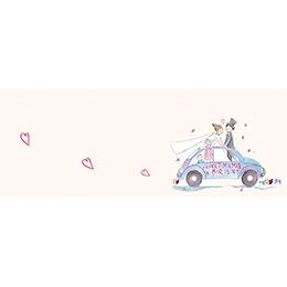 Marque-place mariage La Coccinelle  gratuit