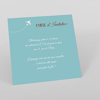 Carte d'invitation mariage Ulysse et Pénélope