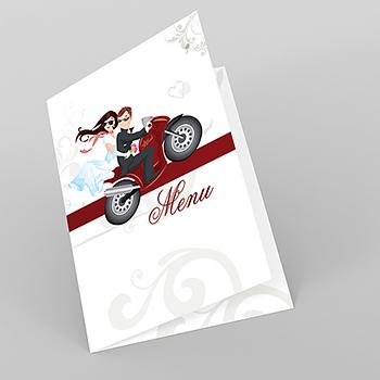 Menu mariage Une moto pour 2