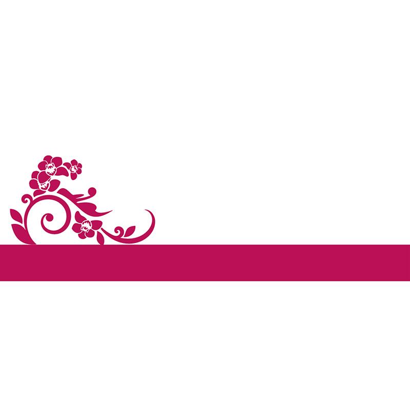 Marque-place mariage Cérémonie rose gratuit