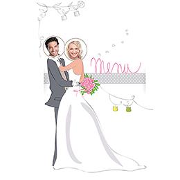 Menu mariage Jour de fête  pas cher