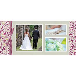 Carte de remerciement mariage Secrets  gratuit