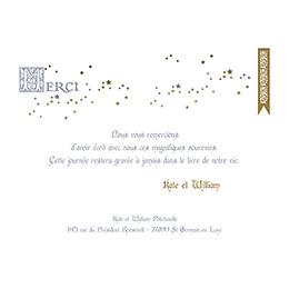Carte de remerciement mariage William et Kate  pas cher