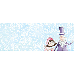 Marque-place mariage Getting married  gratuit