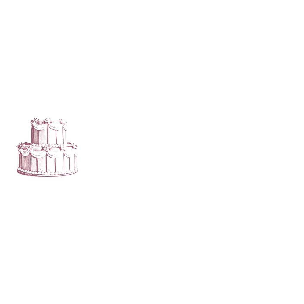 Marque-place mariage Wedding cake bordeaux gratuit