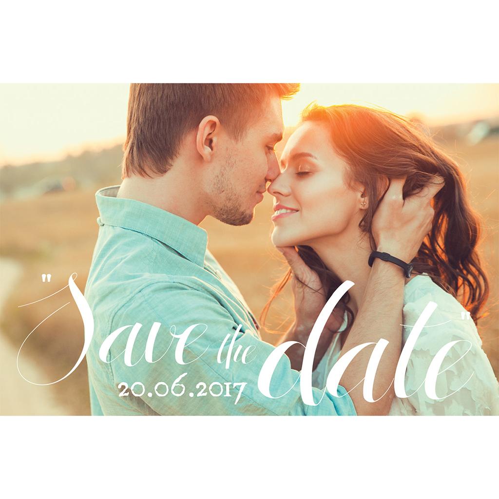 Save-the-date mariage Un grand jour  pas cher