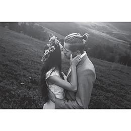 Carte de remerciement mariage Rose Chic gratuit