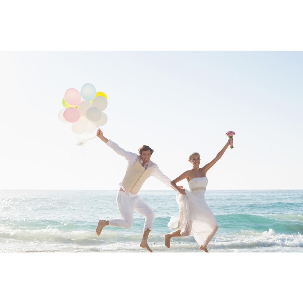 Carte de remerciement mariage Gris et Rose Poudré gratuit